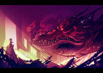 The Desolation of Smaug by SkiddMcMarxx