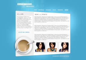 Web Design Layout by dann18