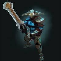 Sven, rogue knight by betawho