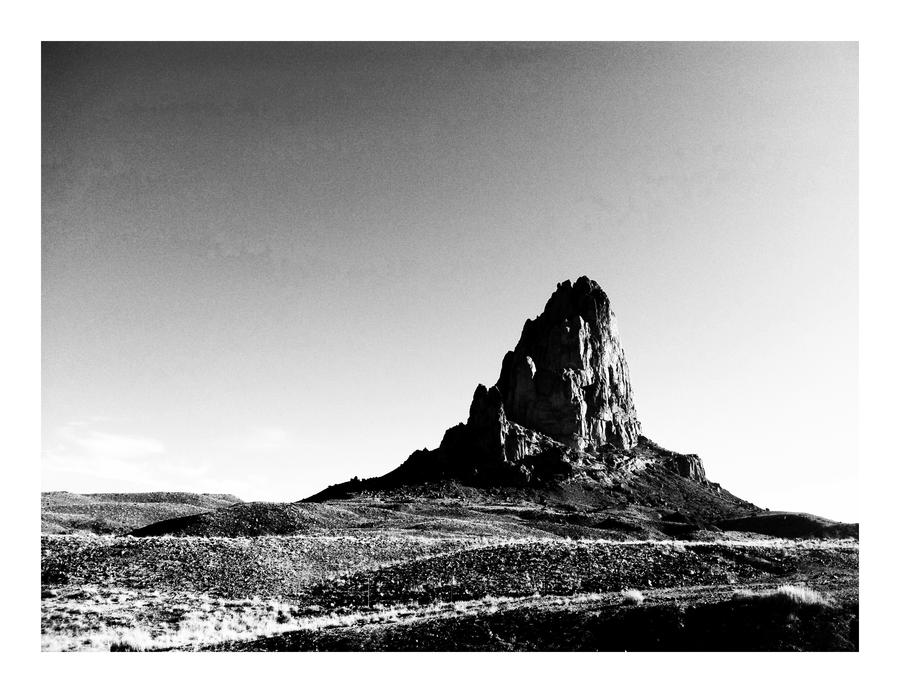 Pride Rock BW by CaseyAdamF