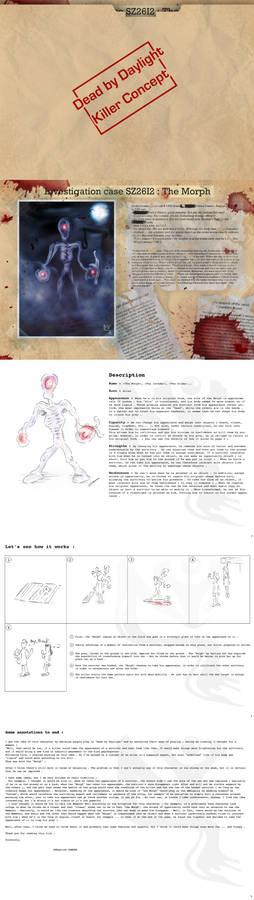 Dead by Daylight : concept killer - Morph - VEng