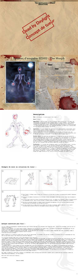 Dead by Daylight : concept tueur - Morph - VF
