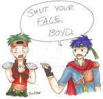 SHUT YOUR FACE BOYD