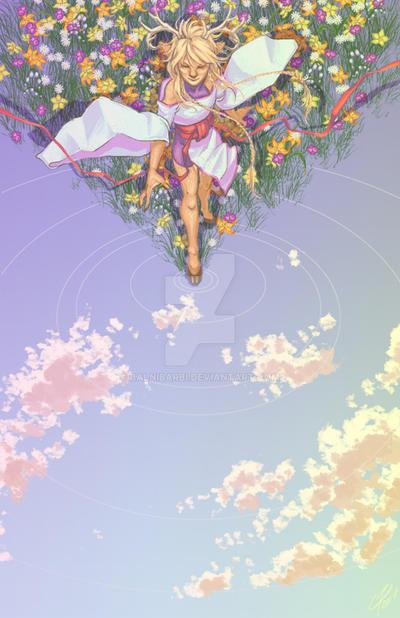 skytreader, springbearer by balnibarbi