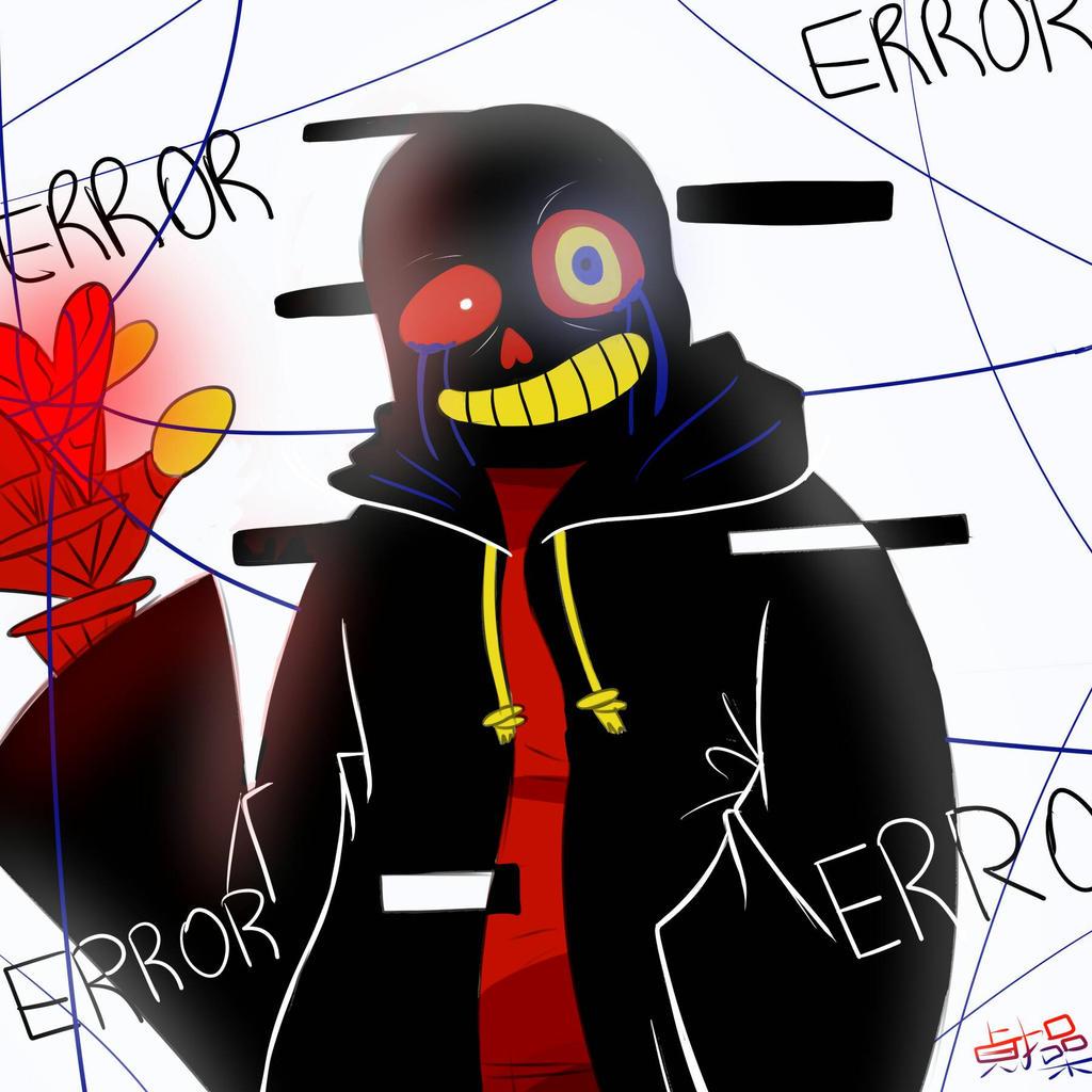 Error!sans By Markibab On DeviantArt