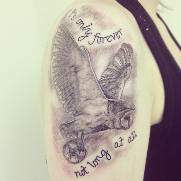 Labyrinth Tattoo - It's only forever by speedyspeck on ... Labyrinth Movie Quotes Tattoos