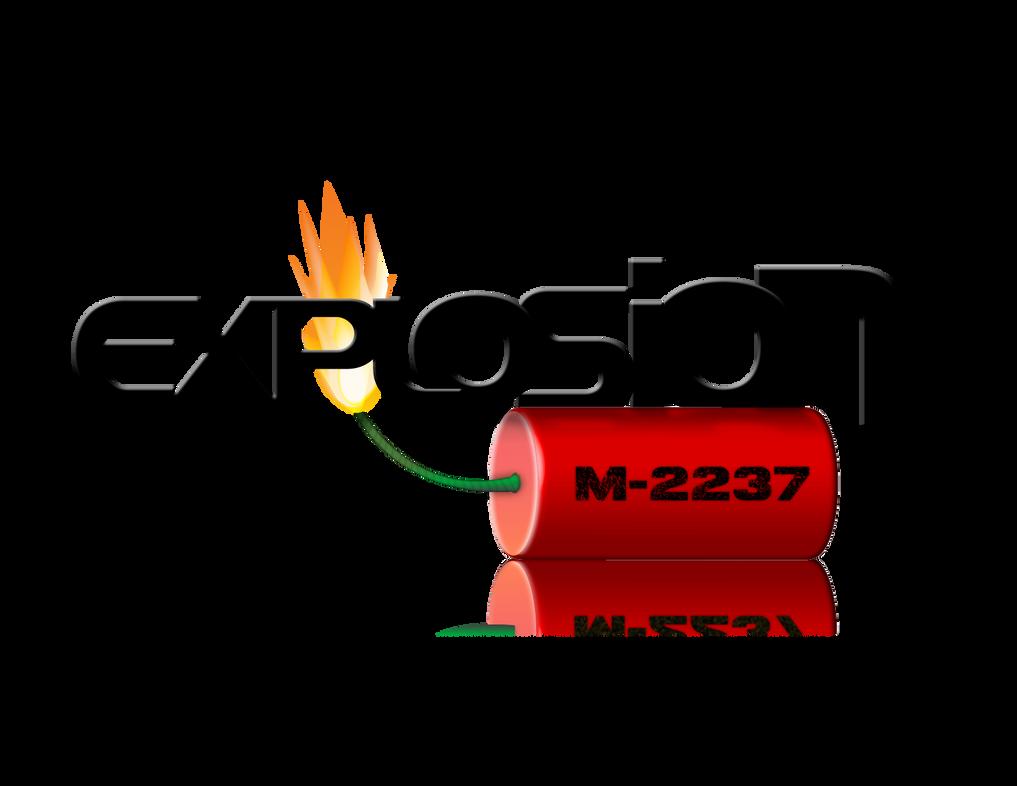 explosion logo by k3nnywayne on deviantart