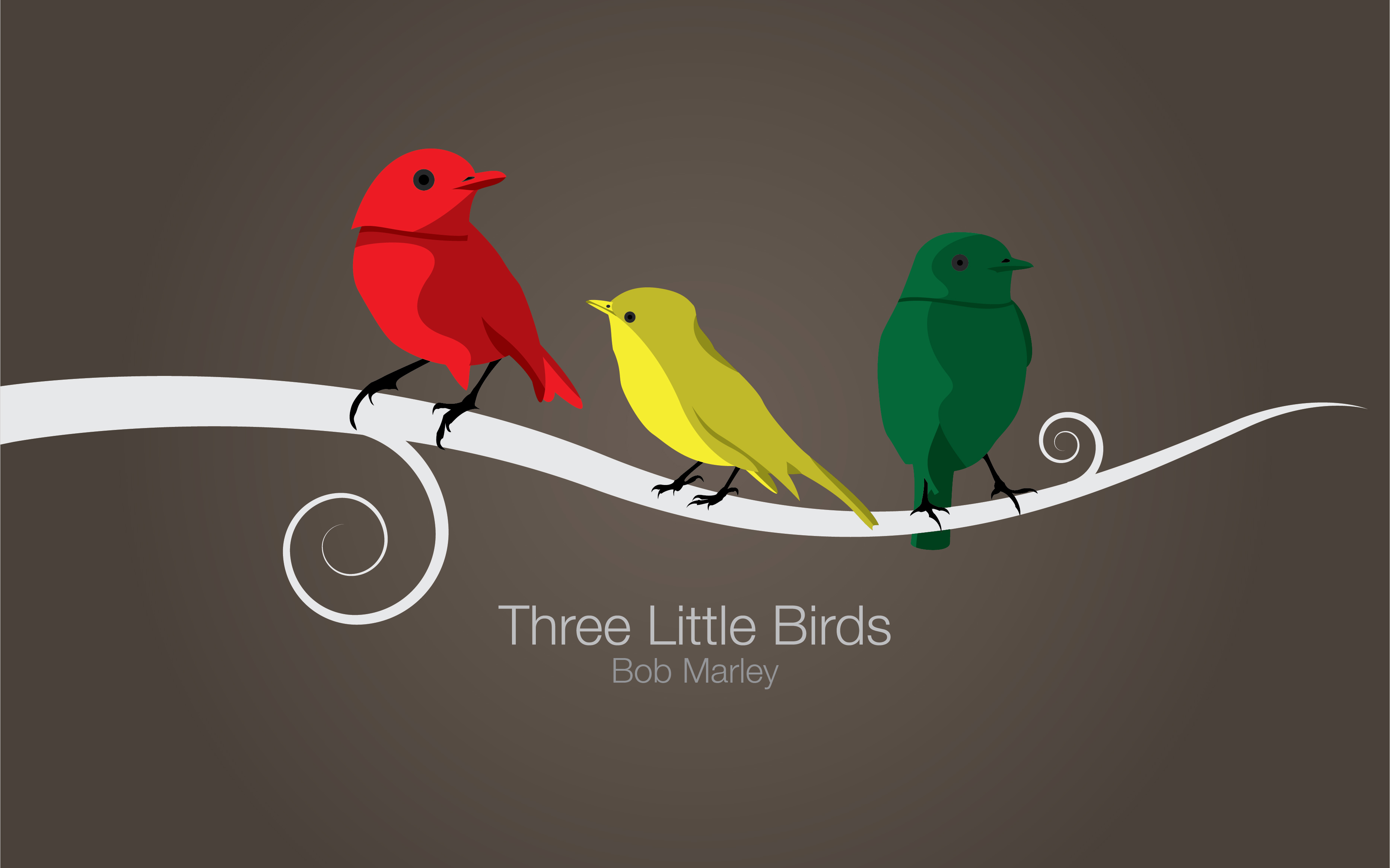 three little birds by ozztheswede on deviantart