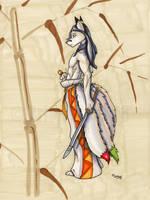 Kitsune by wolfgangcake