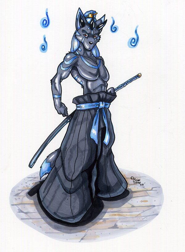 water demon by wolfgangcake on deviantart