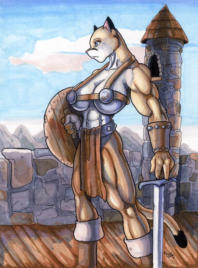 Puma Warrior By Wolfgangcake On Deviantart