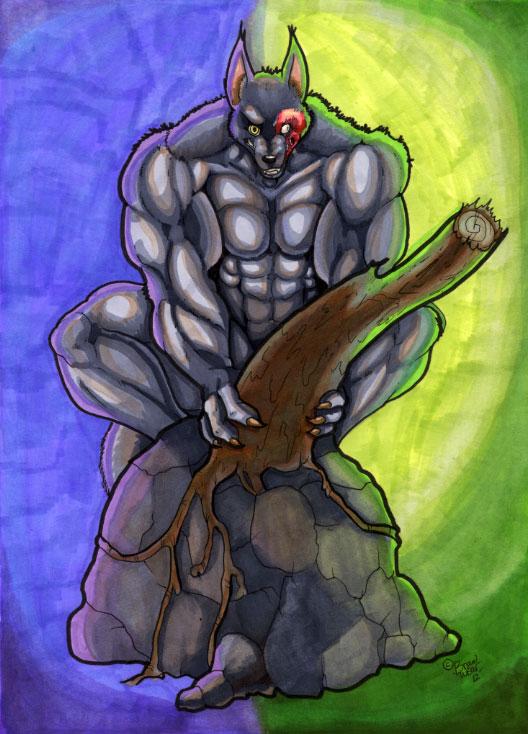 unknown werewolf by wolfgangcake