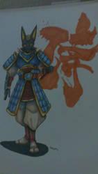 anubis samurai