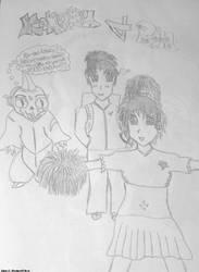 Kohaku and Rin by DemonWicca
