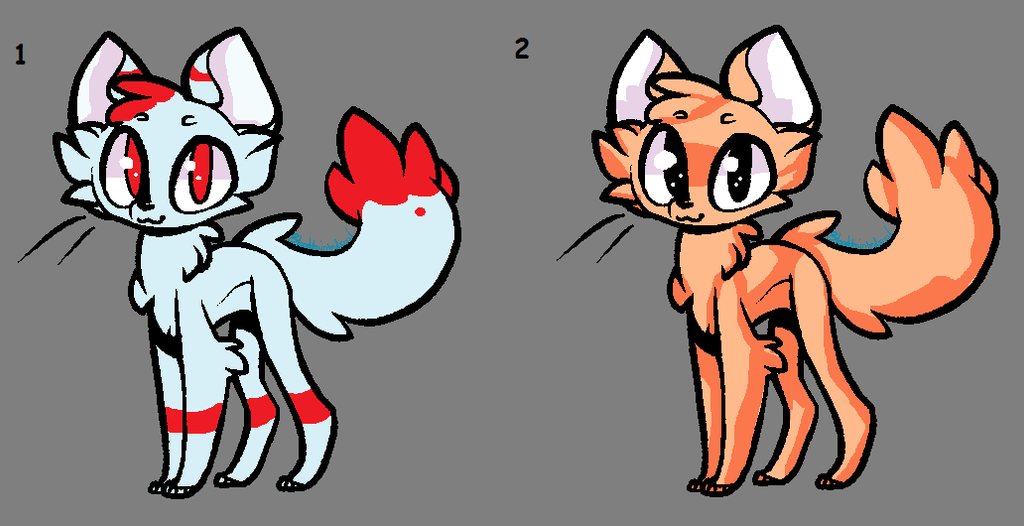 More Cat Adopts OTA  *CLOSED* by SweetZtea