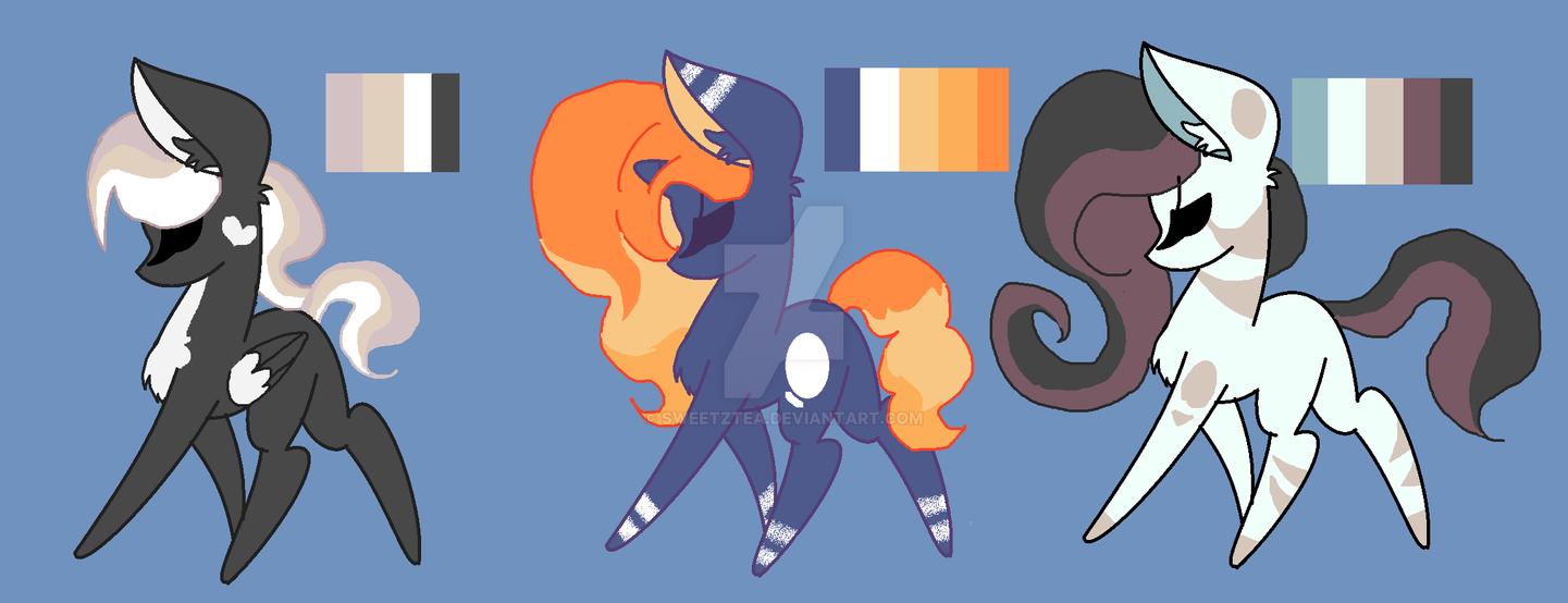 Pony Adopts OTA  *CLOSED* by SweetZtea