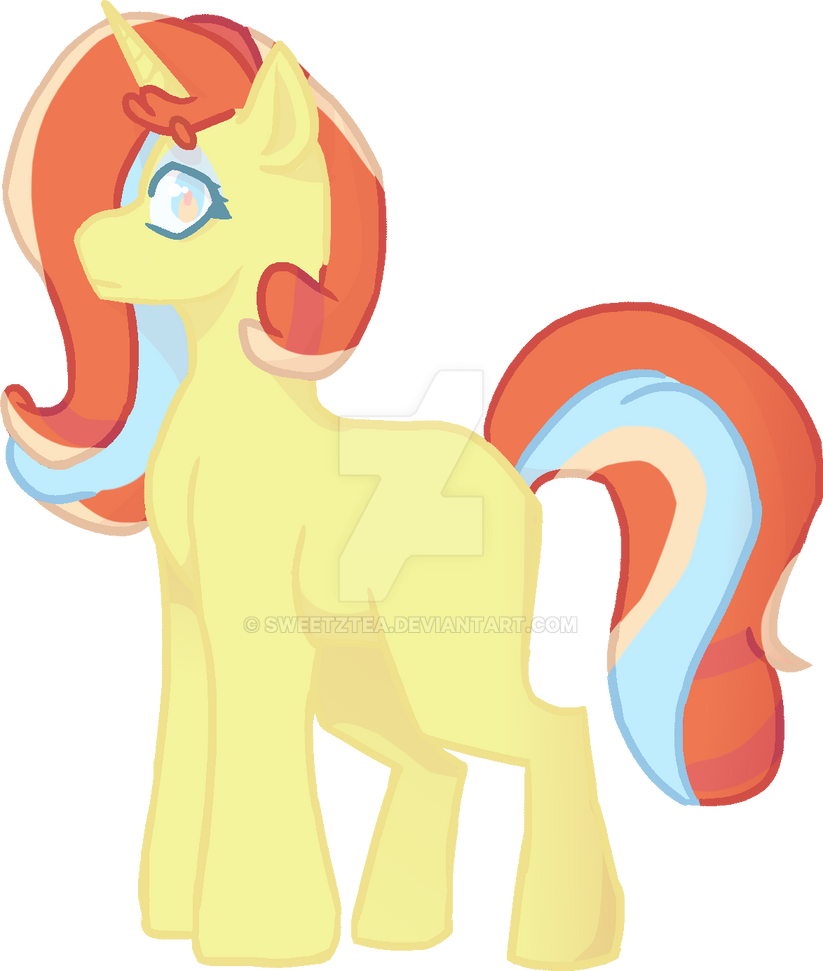 *OPEN* Apple Bloom X Sassy Saddles Adopt by SweetZtea