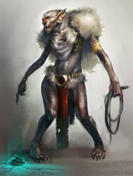 Ork girl