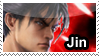 Jin Kazama Stamp by ShayTheHedgehog97