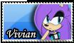 :PC:Vivian Stamp 3/4 by ShayTheHedgehog97