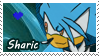 :PCM:Sharic Stamp by ShayTheHedgehog97