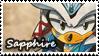 :GF:Sapphire Stamp by ShayTheHedgehog97