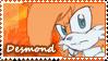 :PCM:Desmond Stamp 1/4 by ShayTheHedgehog97