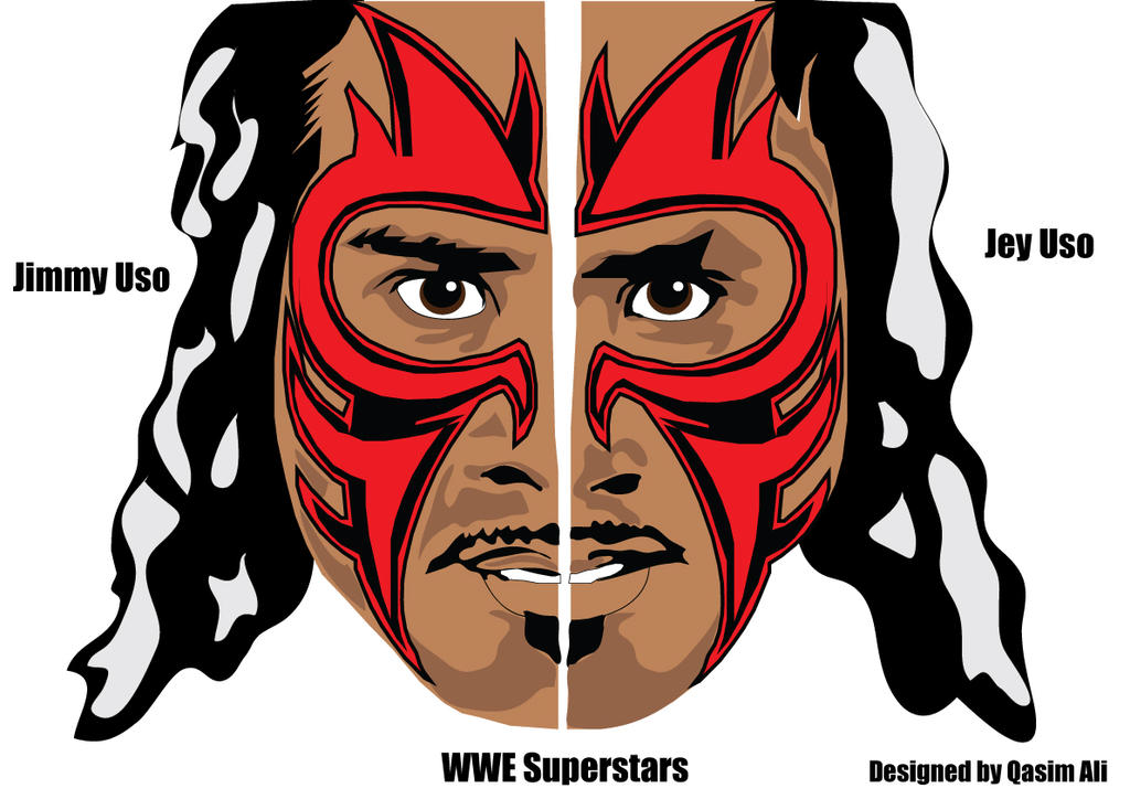 Wwe Usos Face Paint
