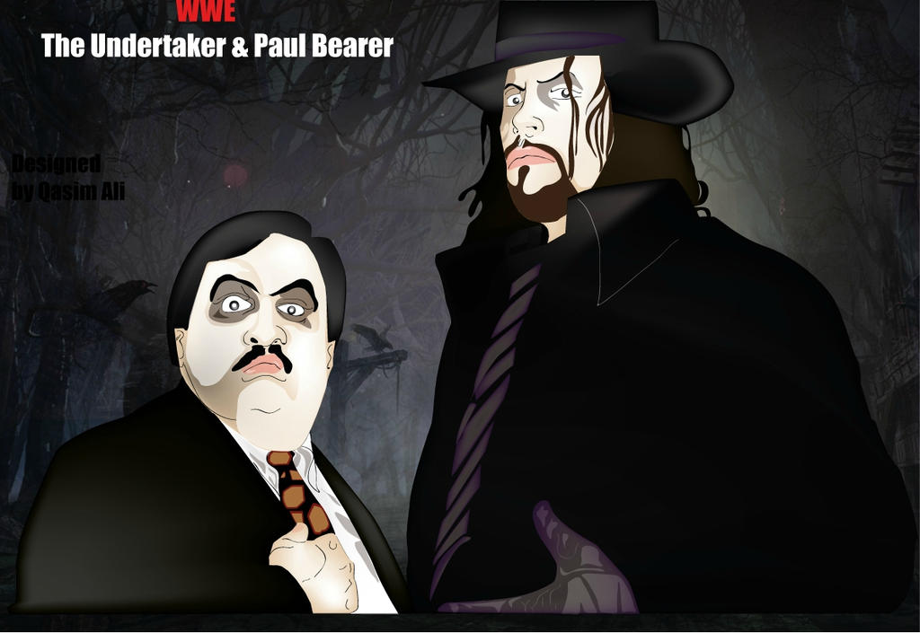 WWE- The Undertaker and Paul Bearer Undertaker And Paul Bearer