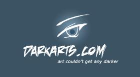darkarts.com - logo design by moDesignz