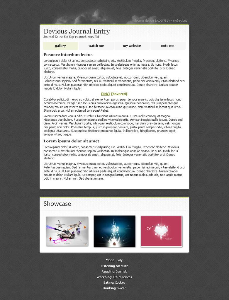 Journal Design 4 by moDesignz