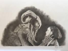 Ofelia and the Faun