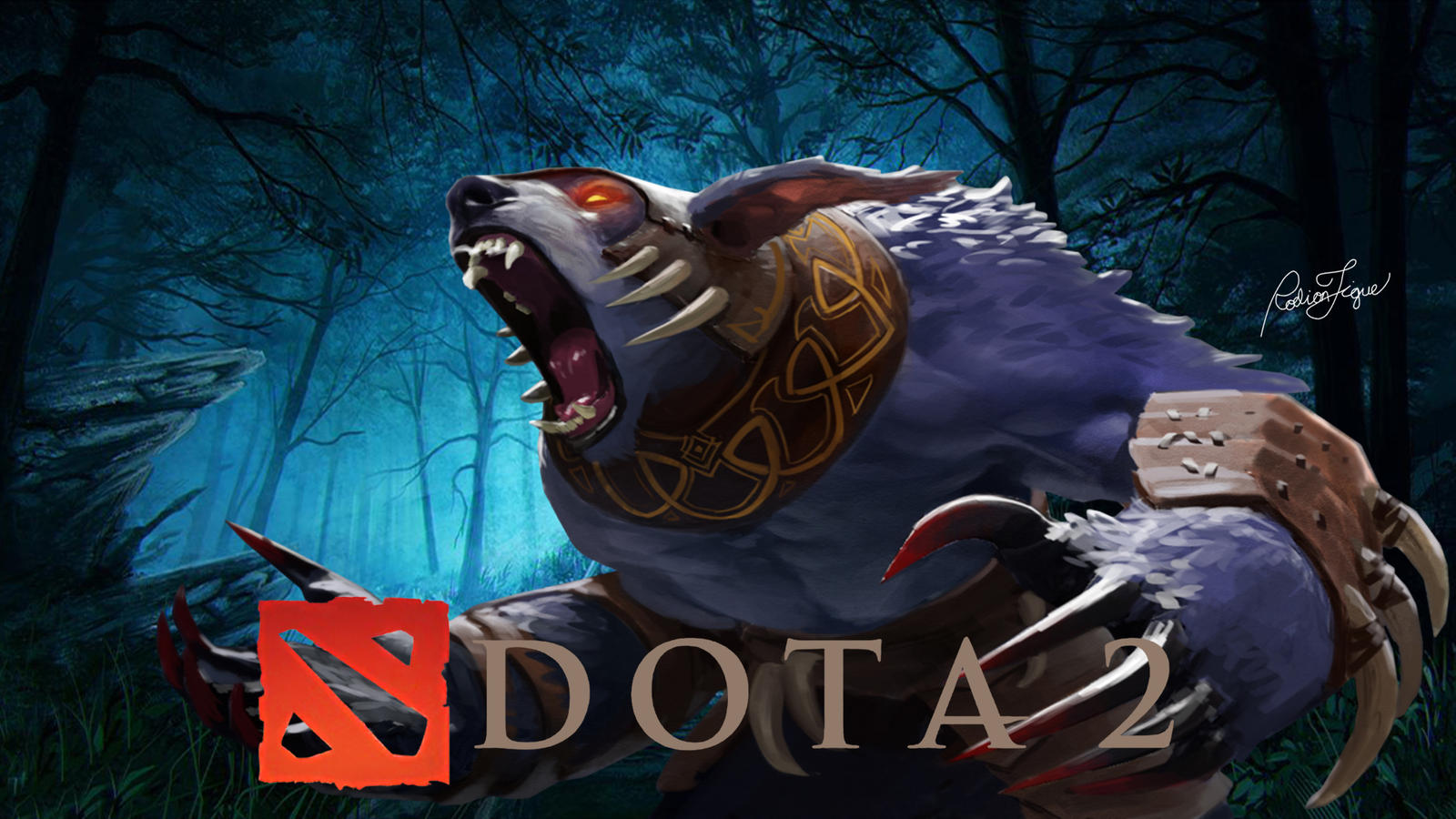 ursa warrior dota 2 by rodiontigue on deviantart