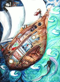 The Pirate Ship Sappho