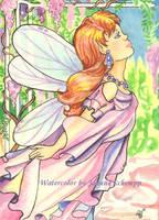 Wisteria Mermaid by B0RN2BWILD