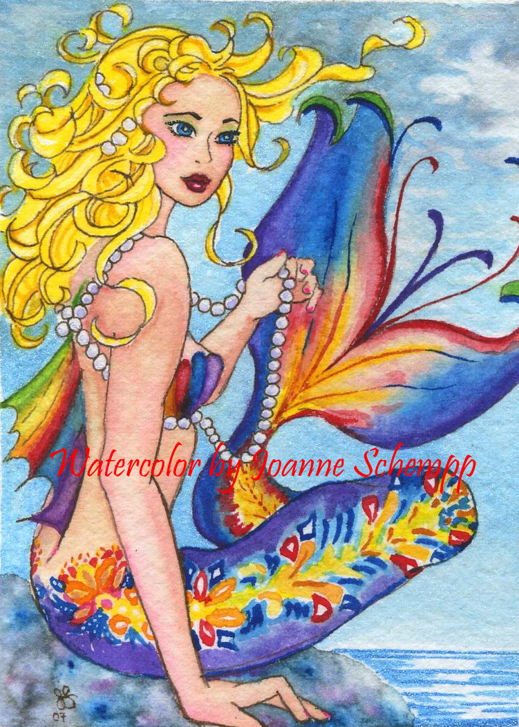 Malibu Mermaid by B0RN2BWILD