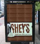 Hershey's Poster Advertisement