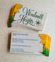 Windmill Heights Business Cards