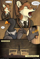Going Postal Comic: Pg 12 by crewwolf