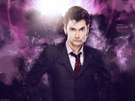 10th Doctor Wallpaper by DarkstarD