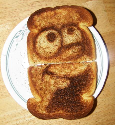 Simpsons Toast by ZakThePelican