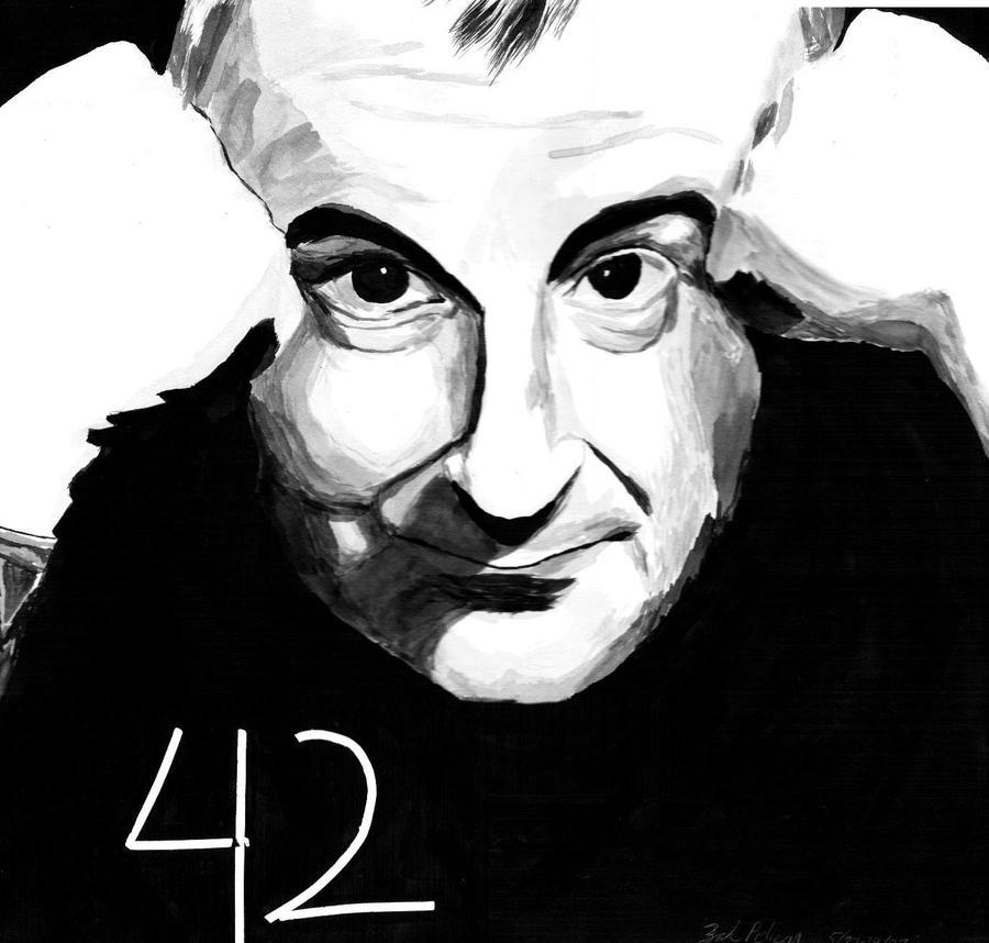 Douglas Adams by ZakThePelican