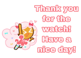 Thank you for the watch!