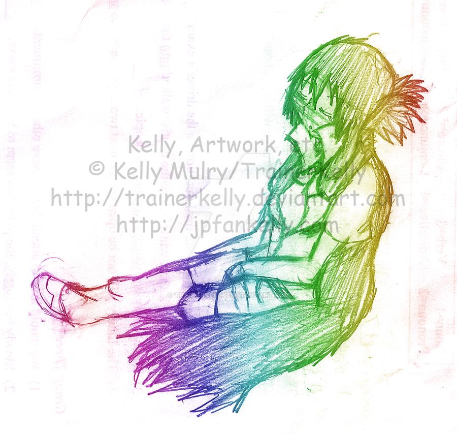 SKETCH - Kelly Sleeping by TrainerKelly