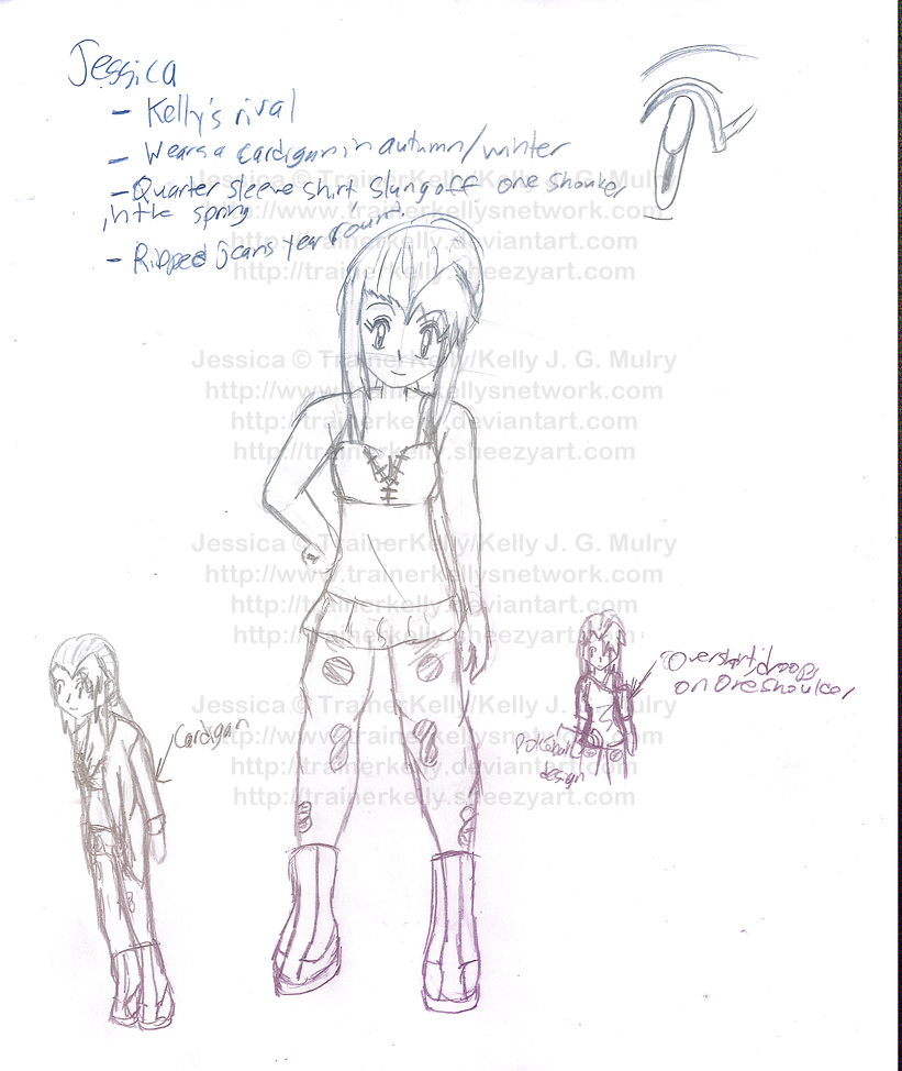 Sketch - Jessica by TrainerKelly