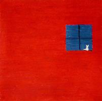 Red-Bleu and a Cat by DilanSarioglu