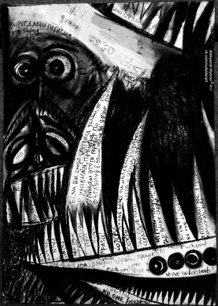 My contemporary art social hyperrealism by alyonintv