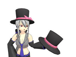MMD - Top Hat by AbsentWhite