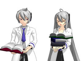 MMD - books by AbsentWhite