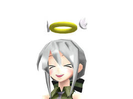 MMD - Winged Halo by AbsentWhite